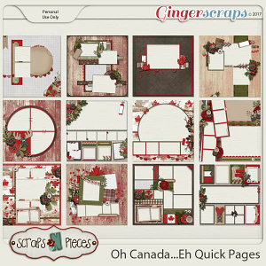 Oh Canada...Eh!  Quick Pages