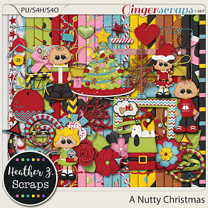 A Nutty Christmas KIT by Heather Z Scraps