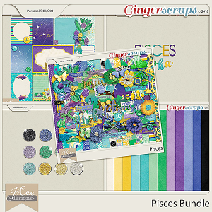 Pisces Bundle by JoCee Designs
