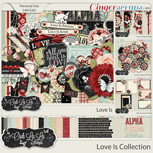 Love Is Digital Scrapbook Collection