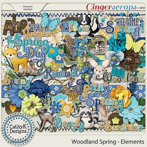 Woodland Spring - Elements