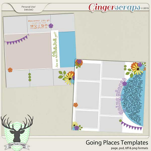 Going Places Templates