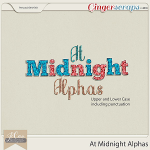 At Midnight Alphas by JoCee Designs