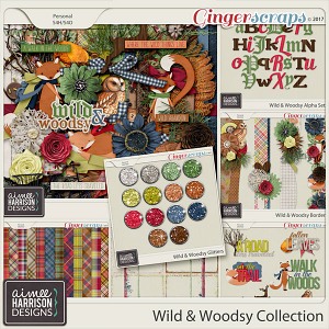 Wild and Woodsy Collection by Aimee Harrison