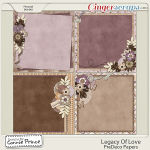 Retiring Soon - Legacy Of Love - PreDeco Papers