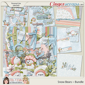Snow Bears Bundle
