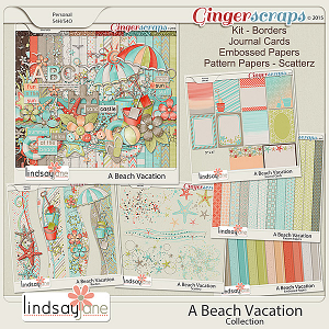 A Beach Vacation Collection by Lindsay Jane