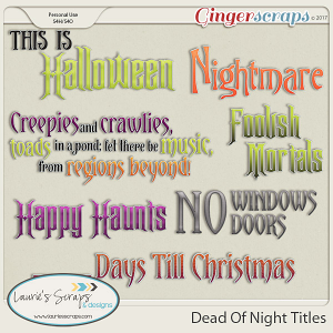 Dead Of Night Titles