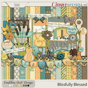 Blissfully Blessed By Dandelion Dust Designs