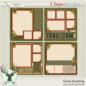 Gone Hunting Temps by Dear Friends Designs