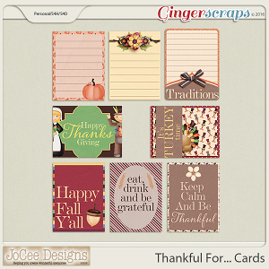 Thankful For... Cards