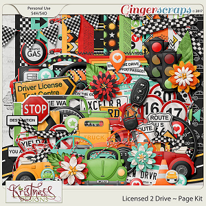 Licensed 2 Drive Page Kit
