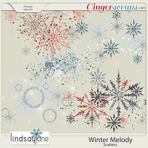 Winter Melody Scatterz by Lindsay Jane