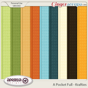 A Pocket Full - Karfties by Aprilisa Designs