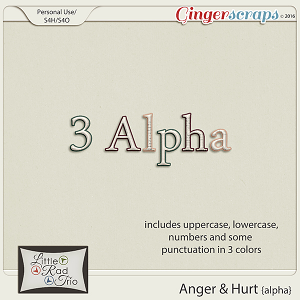 Anger & Hurt {alpha} by Little Rad Trio