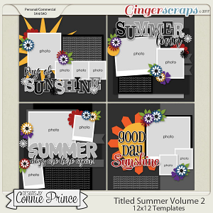 Titled Summer Volume 2- 12x12 Temps (CU Ok)