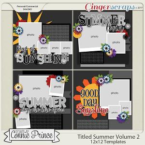 Titled Summer Volume 2- 12x12 Temps (CU Ok)