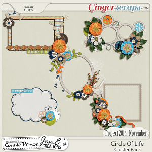 Project 2014 November: Circle Of Life - Cluster Pack