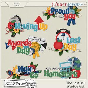 Retiring Soon - The Last Bell - WordArt