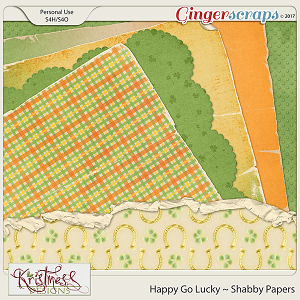 Happy Go Lucky Shabby Papers