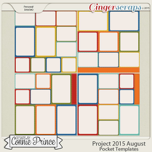 Project 2015 August - Stitched Pocket Templates