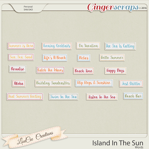Island In The Sun Words