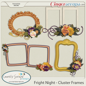 Fright Night - Cluster Frames
