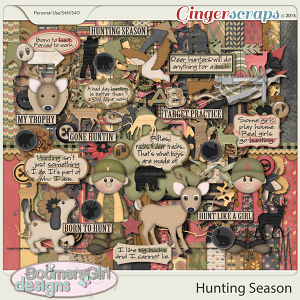 Hunting Season by BoomersGirl Designs