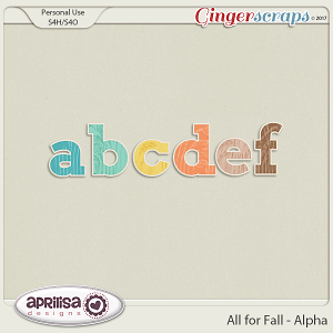 All For Fall - Alpha