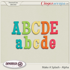 Make A Splash - Alpha