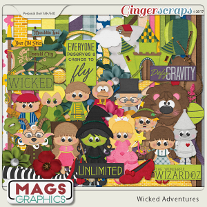 Wicked Adventures KIT by MagsGraphics