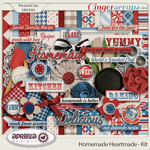 Homemade Heartmade - Kit by Aprilisa Designs