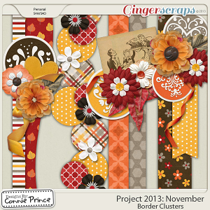 Project 2013:  November - Border Clusters
