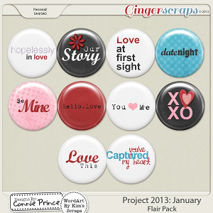 Project 2013: February - Flair Pack
