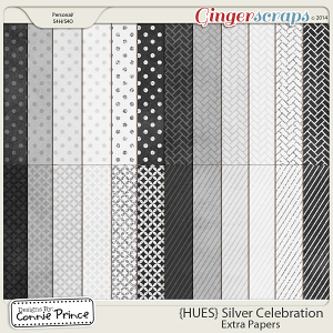 {HUES} Silver Celebration - Extra Papers