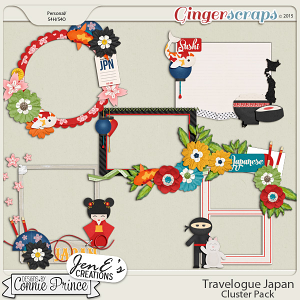 Travelogue Japan - Cluster Pack