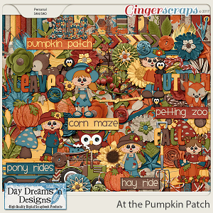 At the Pumpkin Patch {Kit} by Day Dreams 'n Designs
