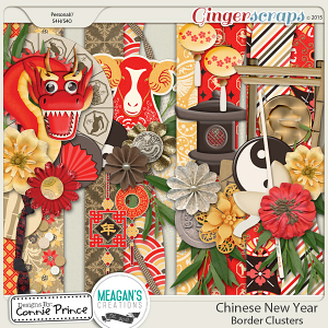 Chinese New Year - Border Clusters