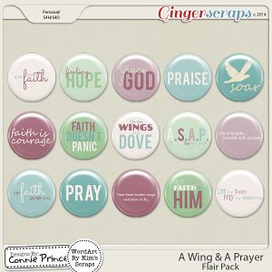 Retiring Soon - A Wing & A Prayer - Flair Pack