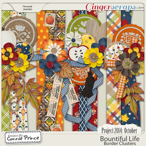 Project 2014 October: Bountiful Life - Border Clusters