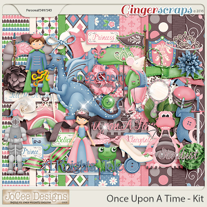 Once Upon A Time Digital Kit