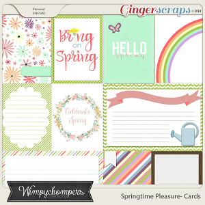 Springtime Pleasure Cards