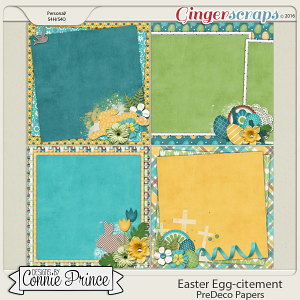 Easter Egg-citement - PreDeco Papers