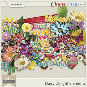 Daisy Delight Elements