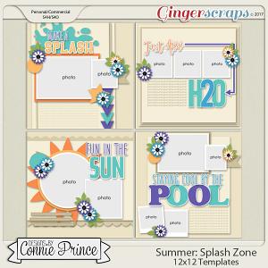 Splash Zone - 12x12 Templates (CU Ok)