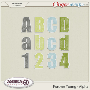 Forever Young Alpha by Aprilisa Designs