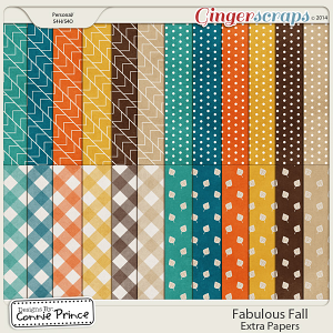 Fabulous Fall - Extra Papers