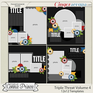 Triple Threat Volume 4 - 12x12 Temps (CU Ok)