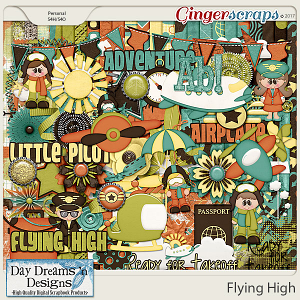 Flying High {Kit} by Day Dreams 'n Designs