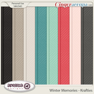 Winter Memories - Krafties by Aprilisa Designs